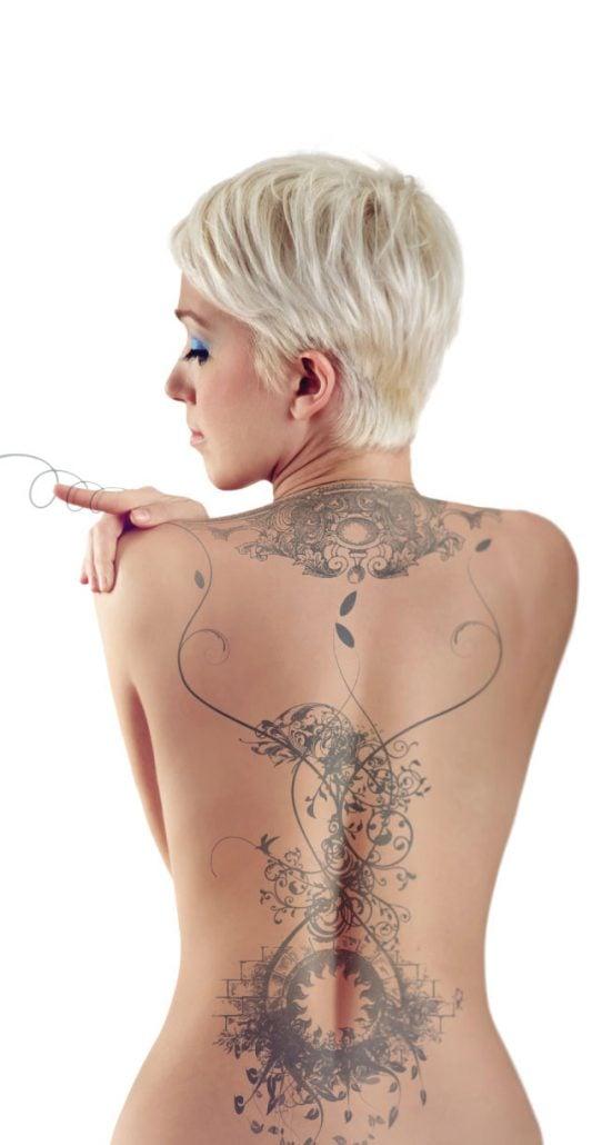 tattoo removal sydney blonde short hair