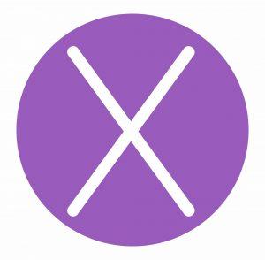 tattoo removal sydney purple circle cross logo