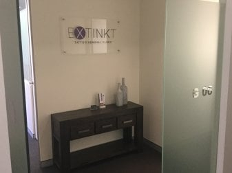 Extinkt Tattoo Removal Sydney Clinic Reception