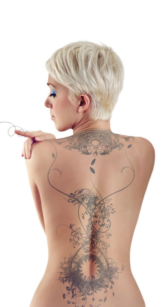 tattoo removal sydney blonde short hair
