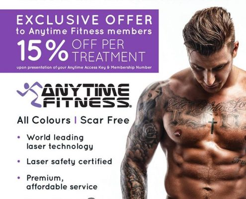 tattoo removal sydney discount for anytime members