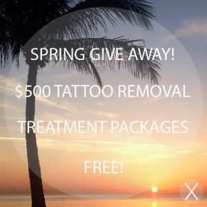 Spring Tattoo Removal Give Away
